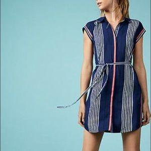 Express Striped Shirt Dress! 💙